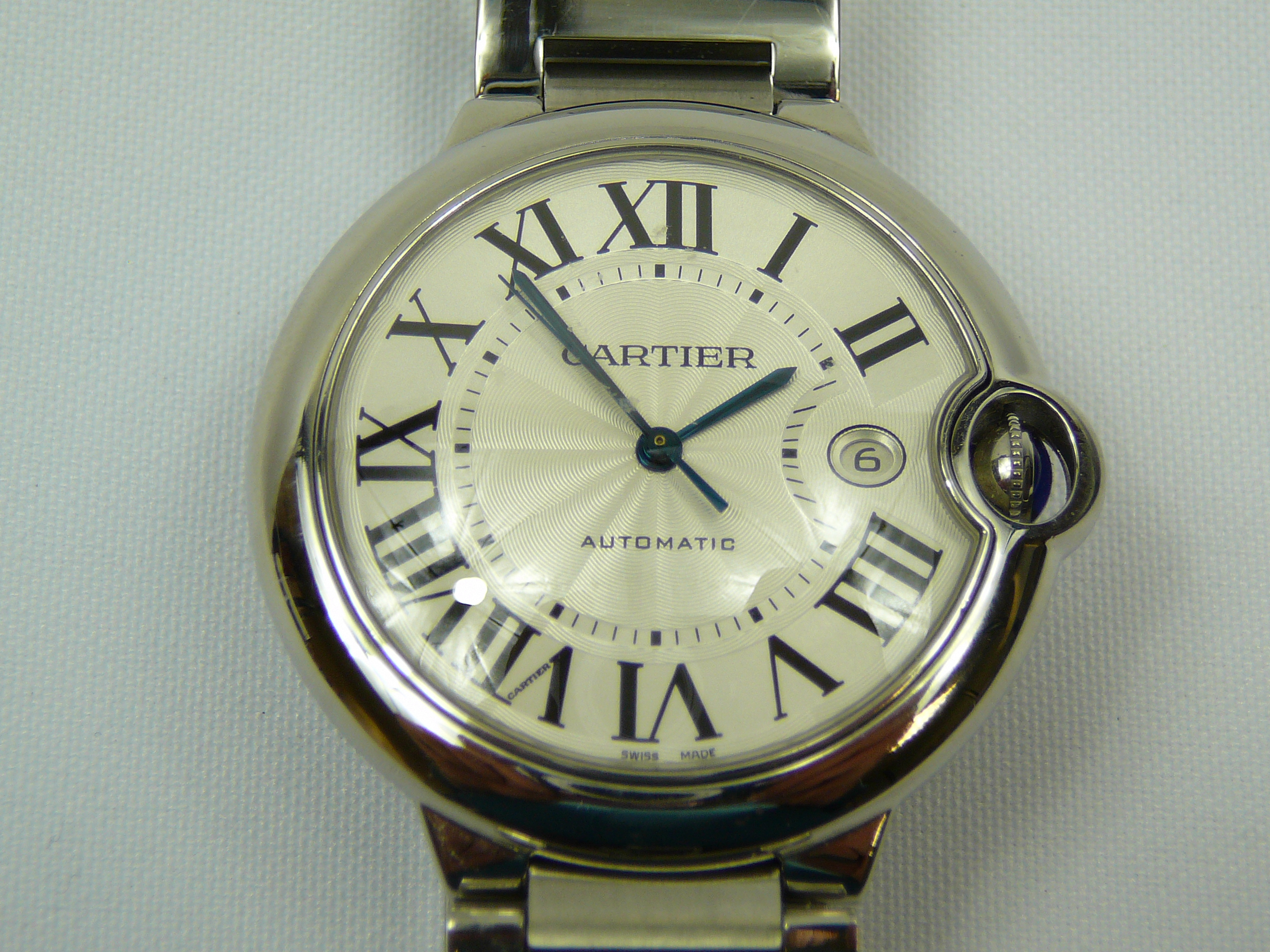 Lot 19 - Gents Cartier Wrist Watch