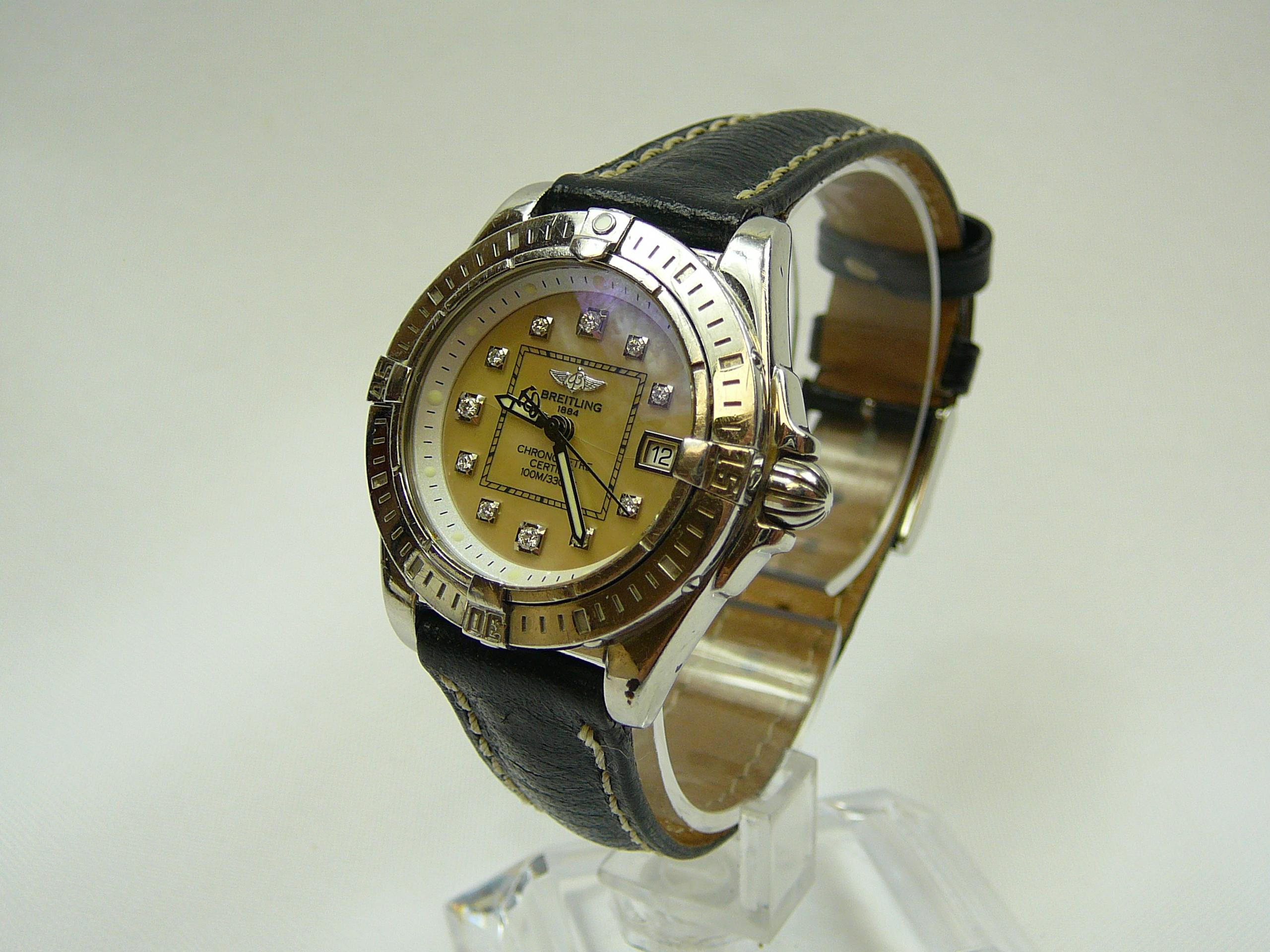 Lot 3 - Ladies Breitling Wrist Watch