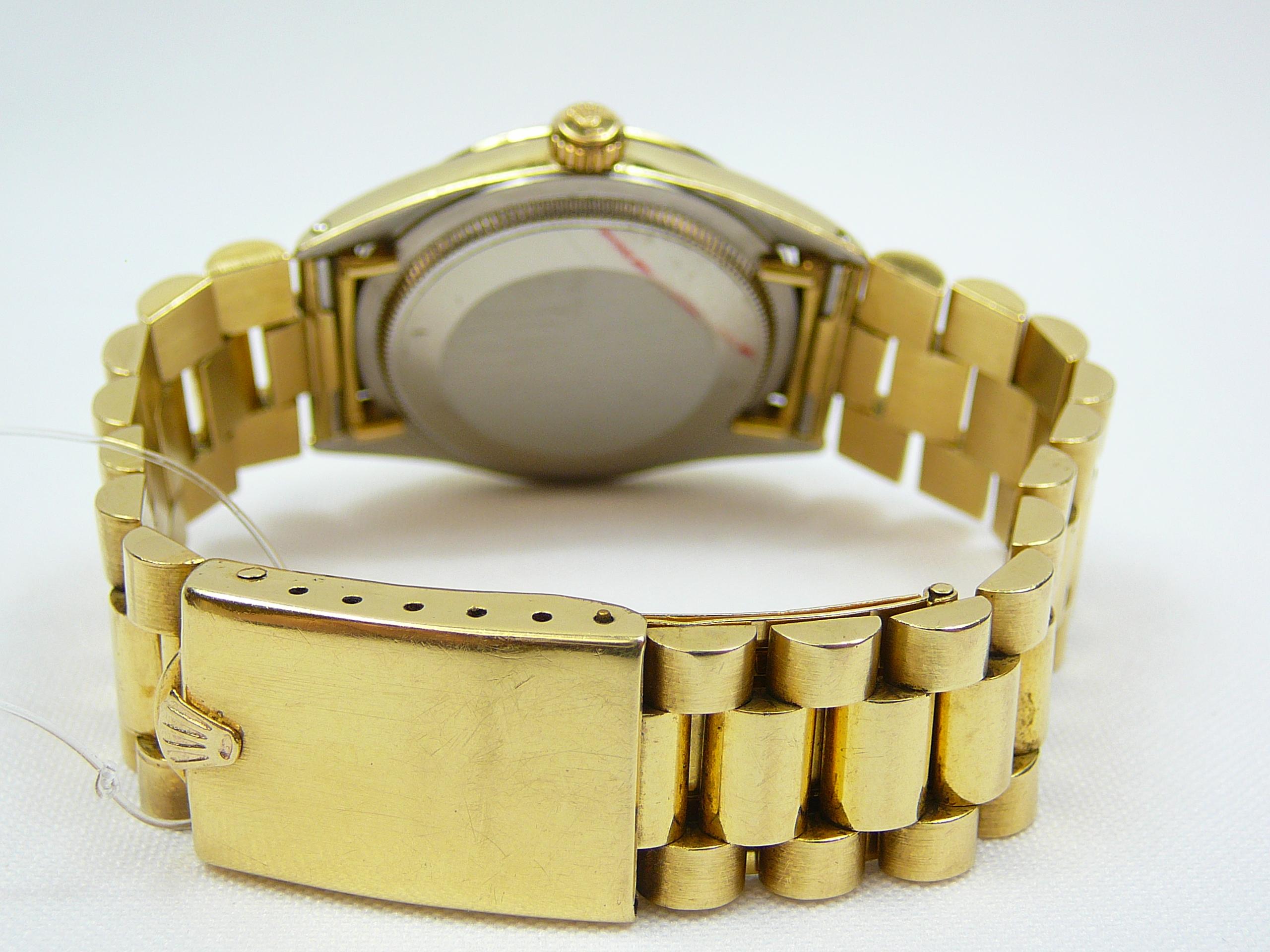 Lot 5 - Gents Rolex Wrist Watch on Gold Bracelet