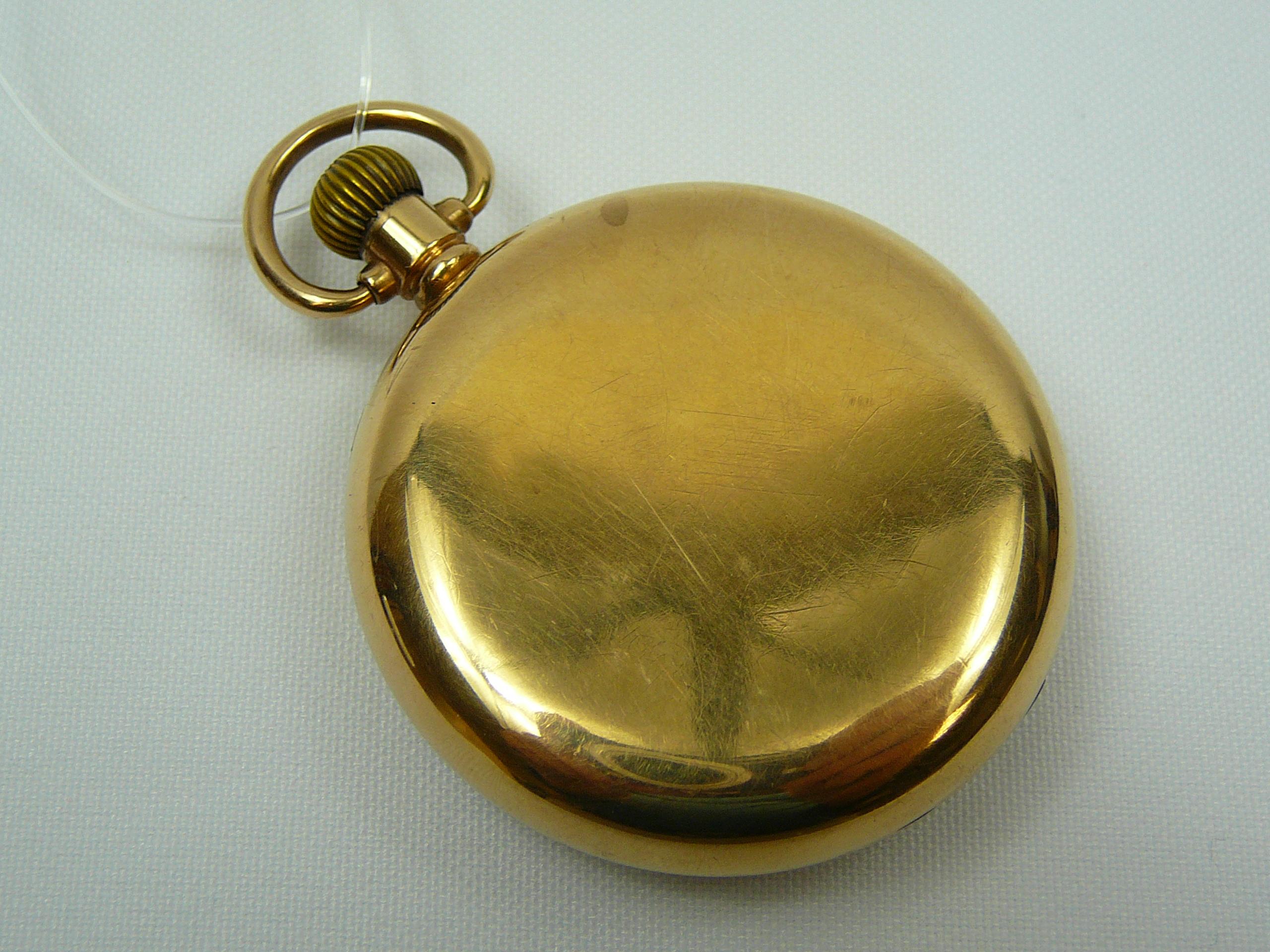 Lot 2 - Gents Gold Pocket Watch