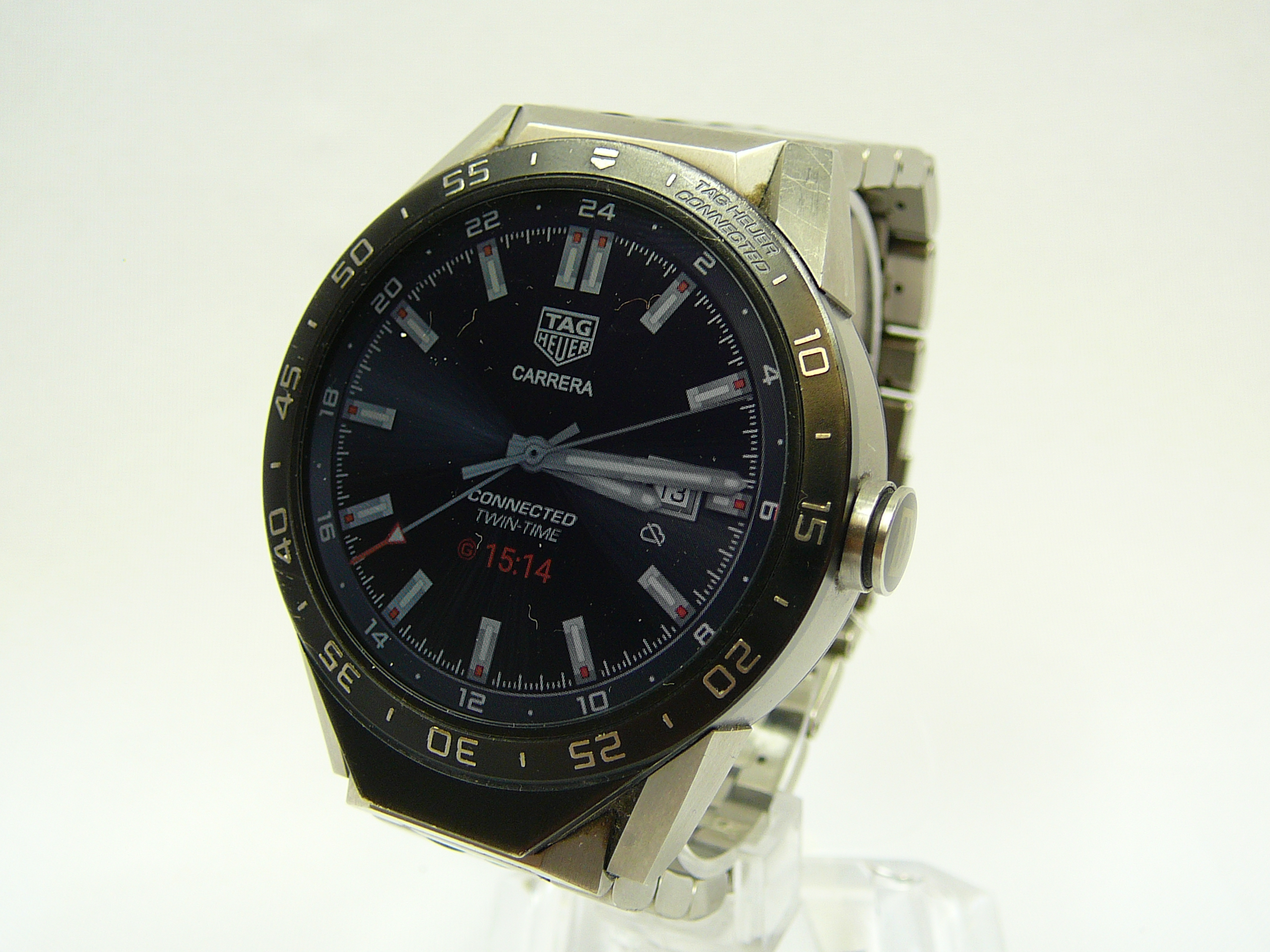 Lot 10 - Gents Tag Heuer Smart Watch