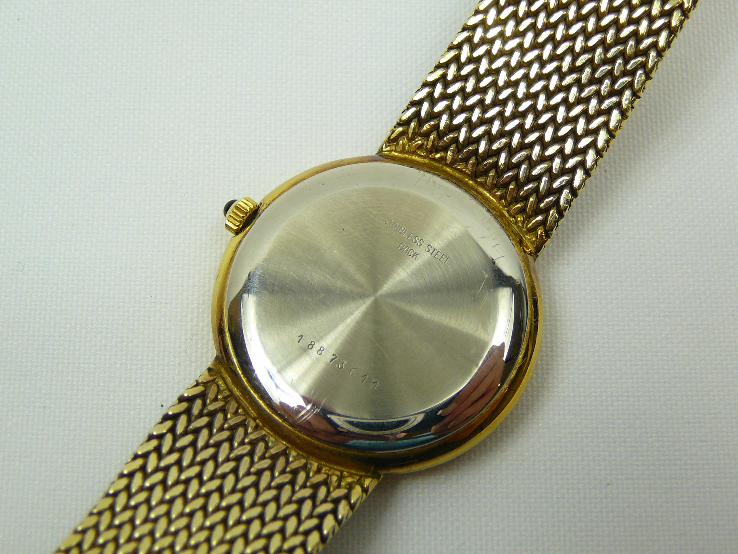 Lot 23 - Gents Longines Silver Wrist Watch