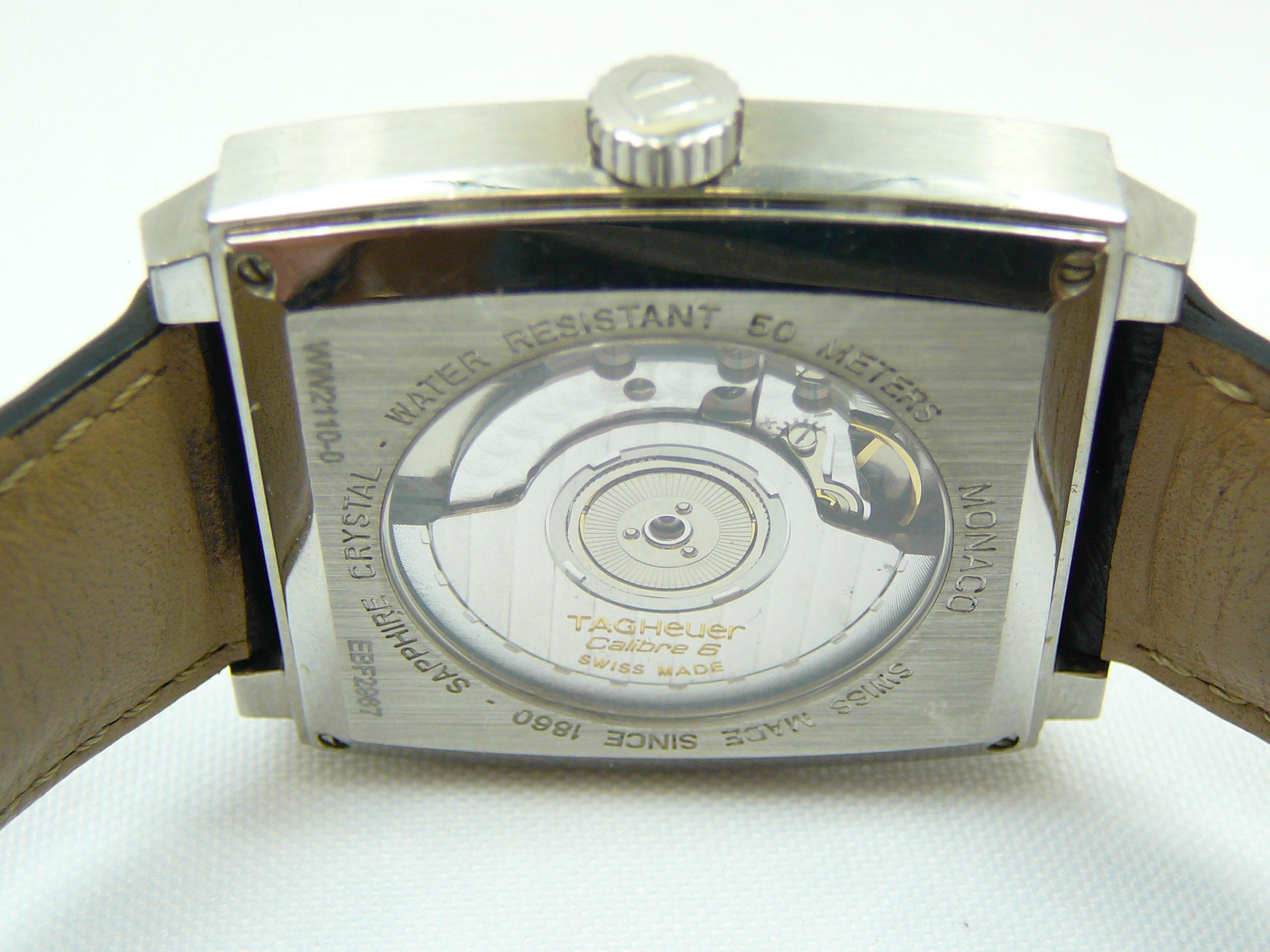 Lot 21 - Gents Tag Heuer Wrist Watch