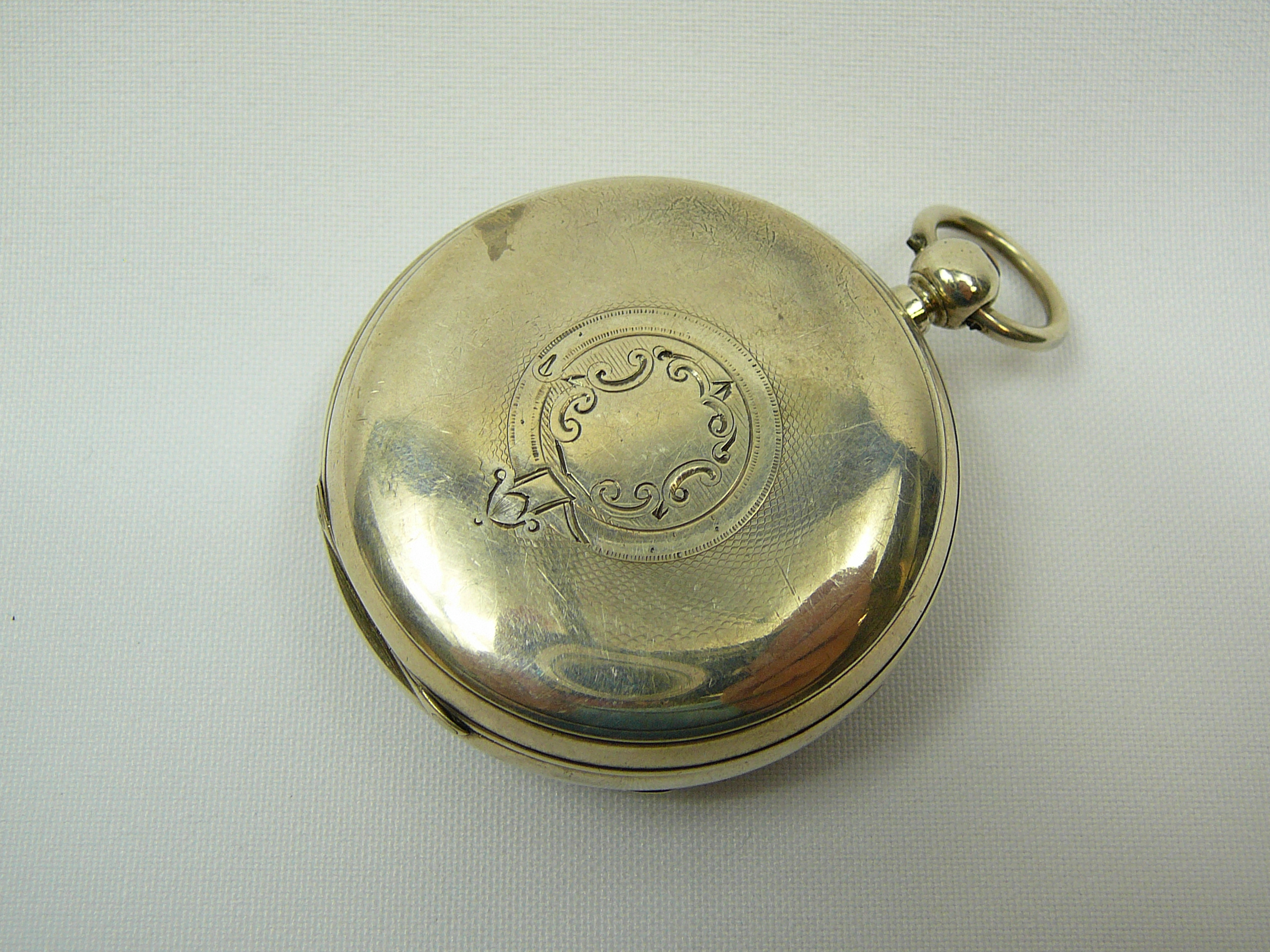 Lot 11 - Gents Silver Pocket Watch