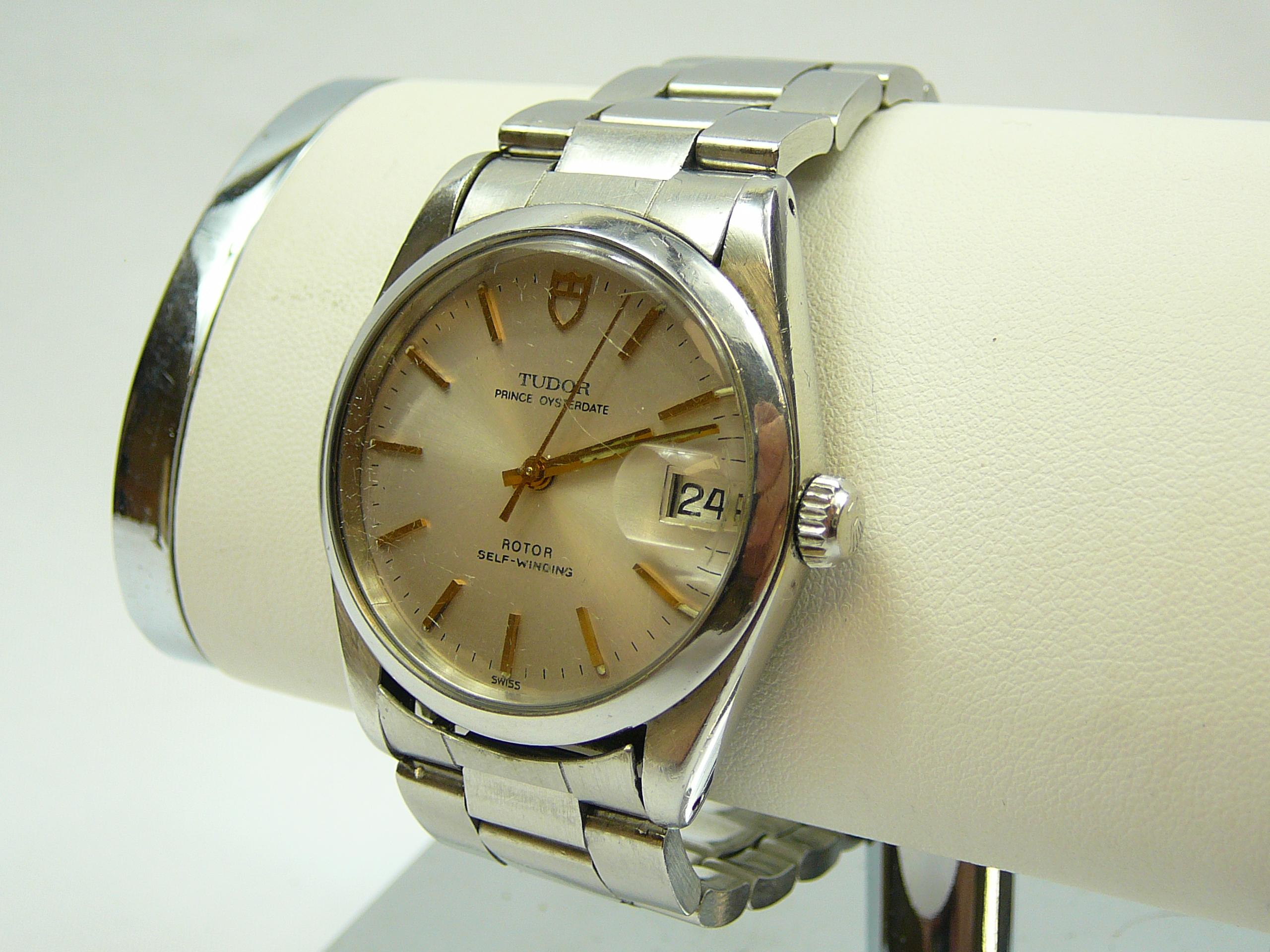 Lot 4 - Gents Tudor Wrist Watch