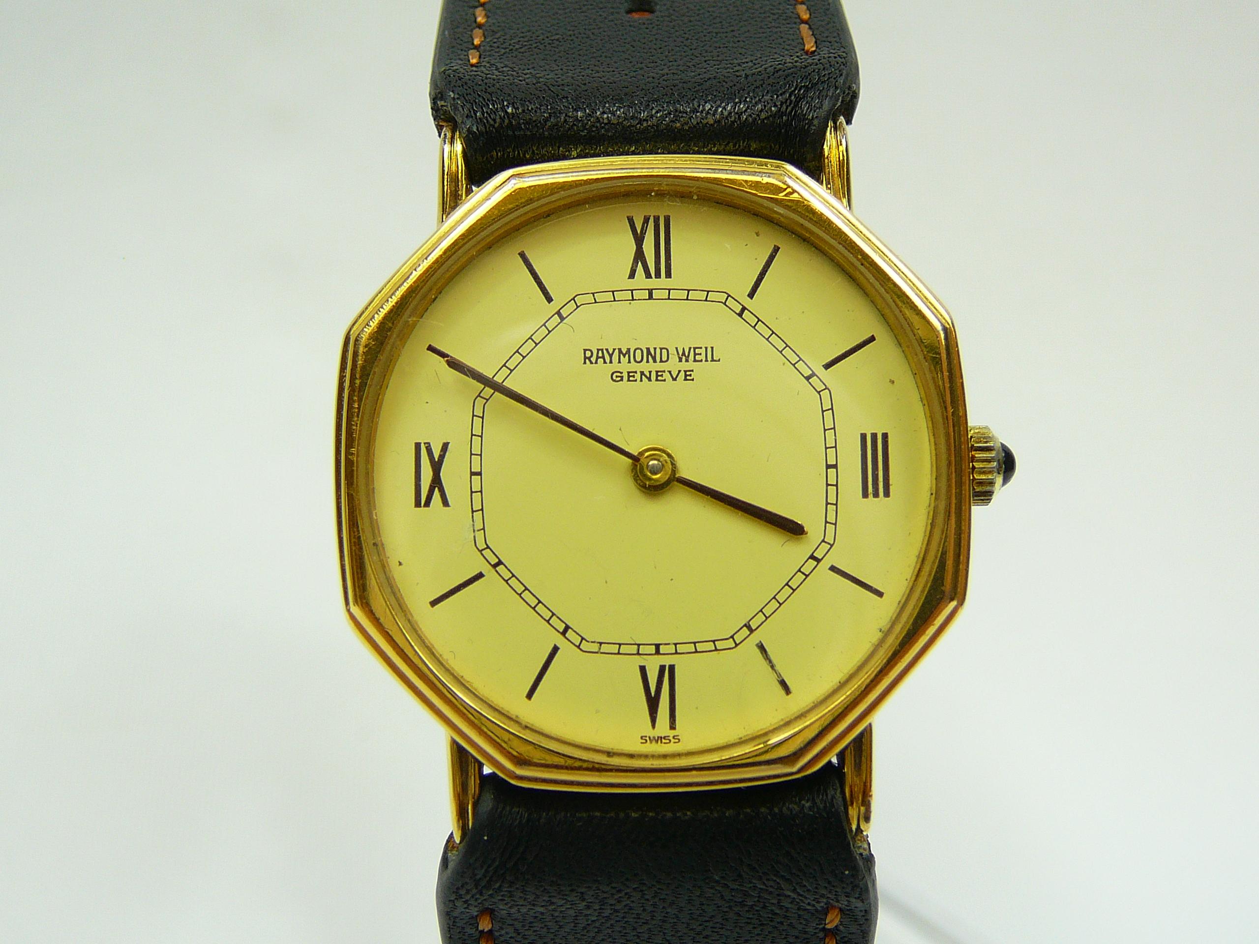 Lot 8 - Gents Raymond Weil Wrist Watch