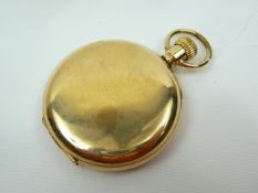 Gents Gold Pocket Watch Case