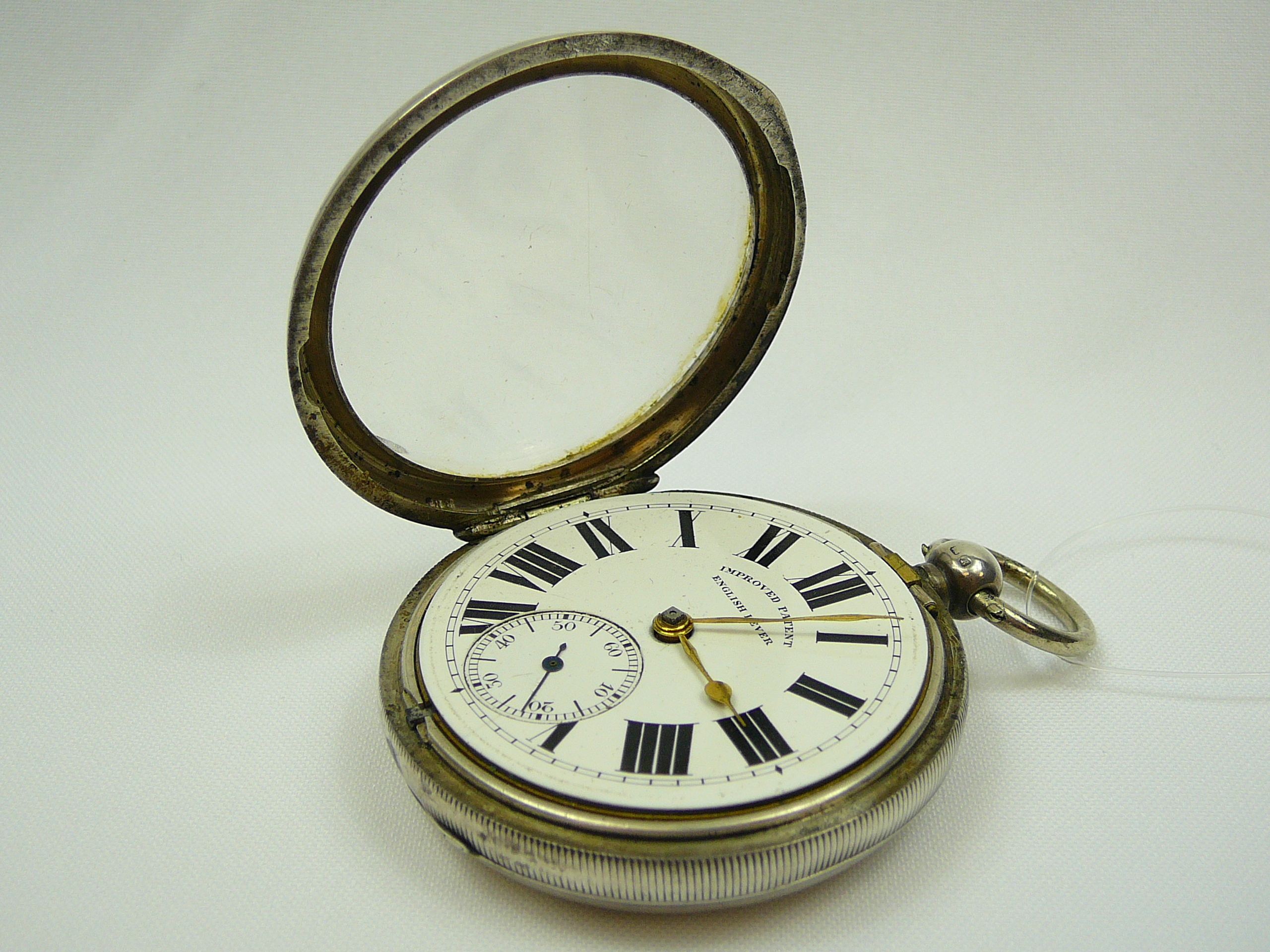 Gents Silver Pocket Watch - Image 3 of 4