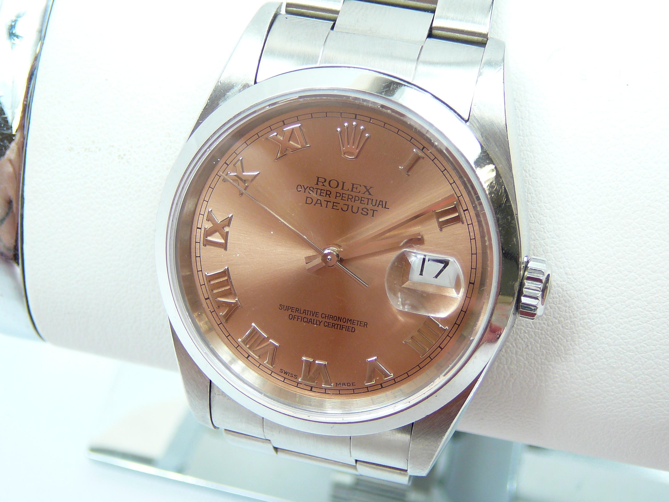 Gents Rolex Wrist Watch - Image 2 of 5