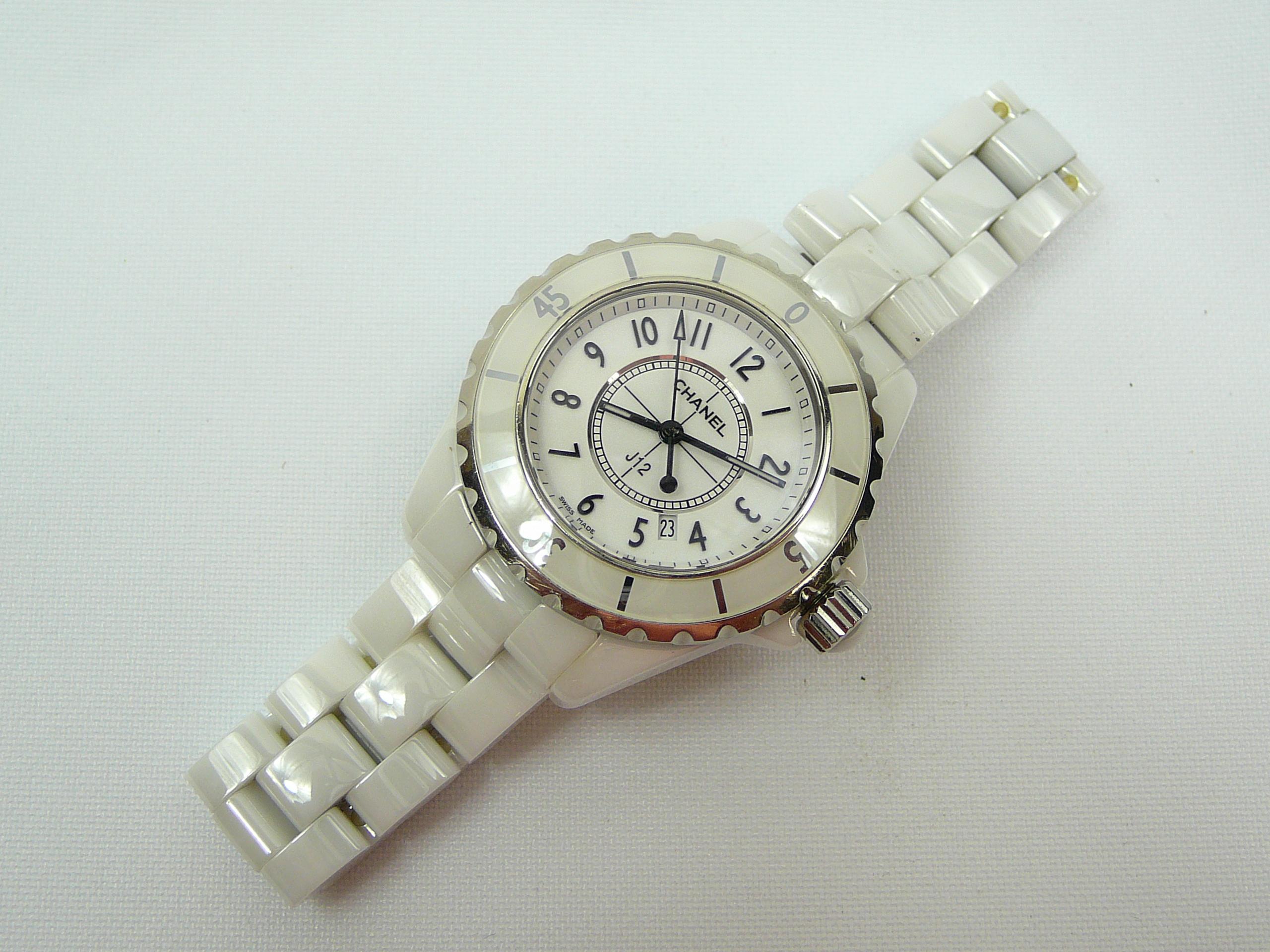 Ladies Chanel J12 Wrist Watch