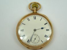 Gents Gold Pocket Watch