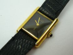 Ladies Cartier Wrist Watch
