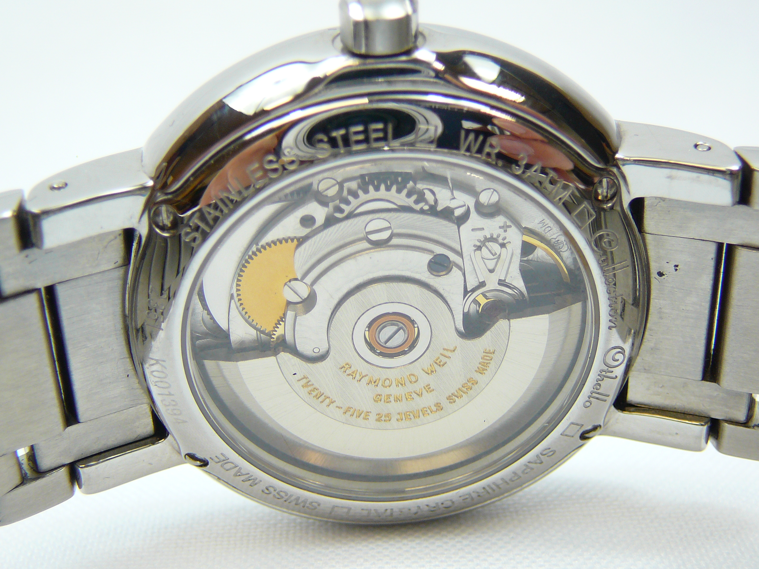 Gents Raymond Weil Wrist Watch - Image 3 of 3