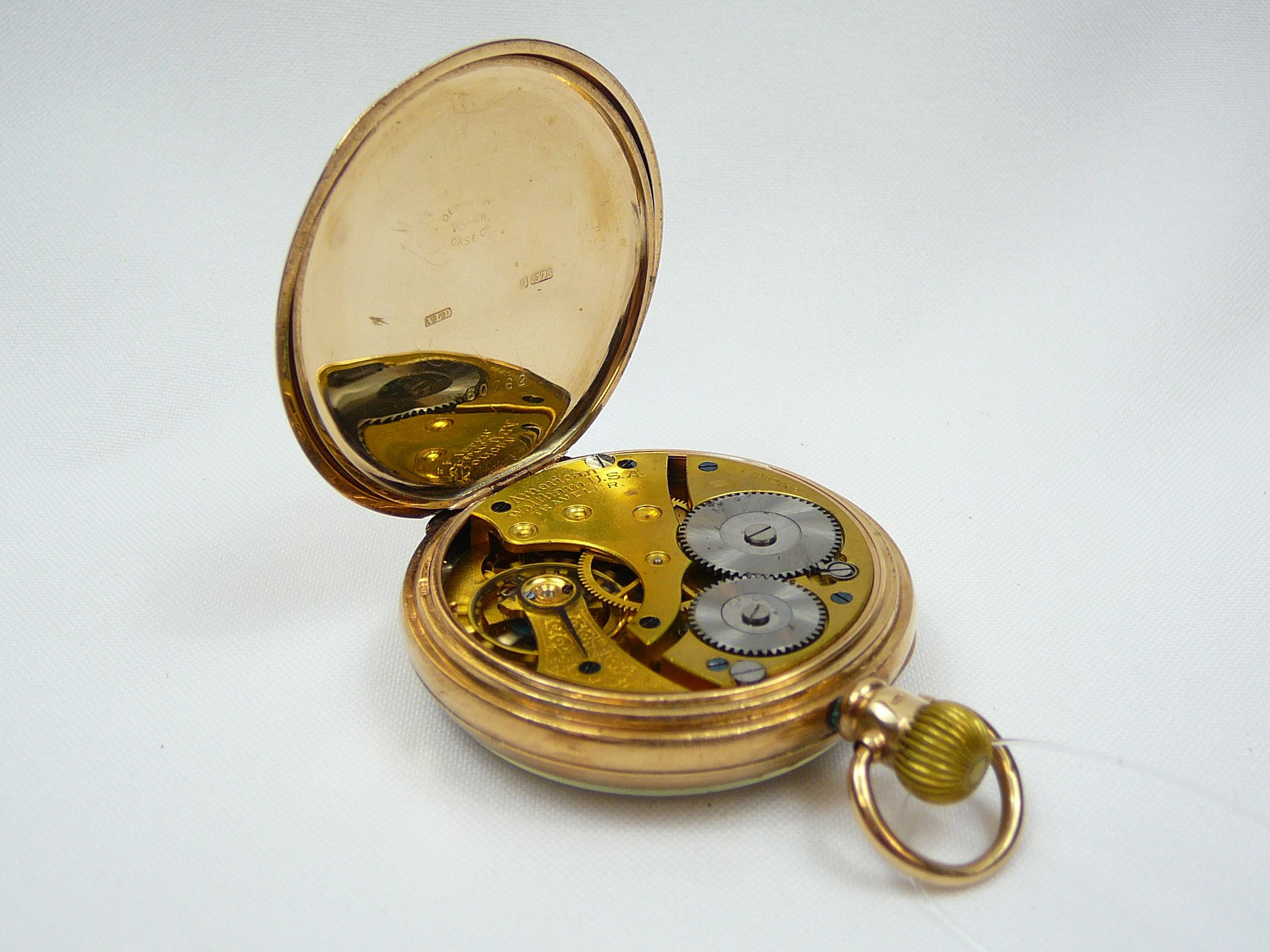 Gents Gold Pocket Watch - Image 3 of 4