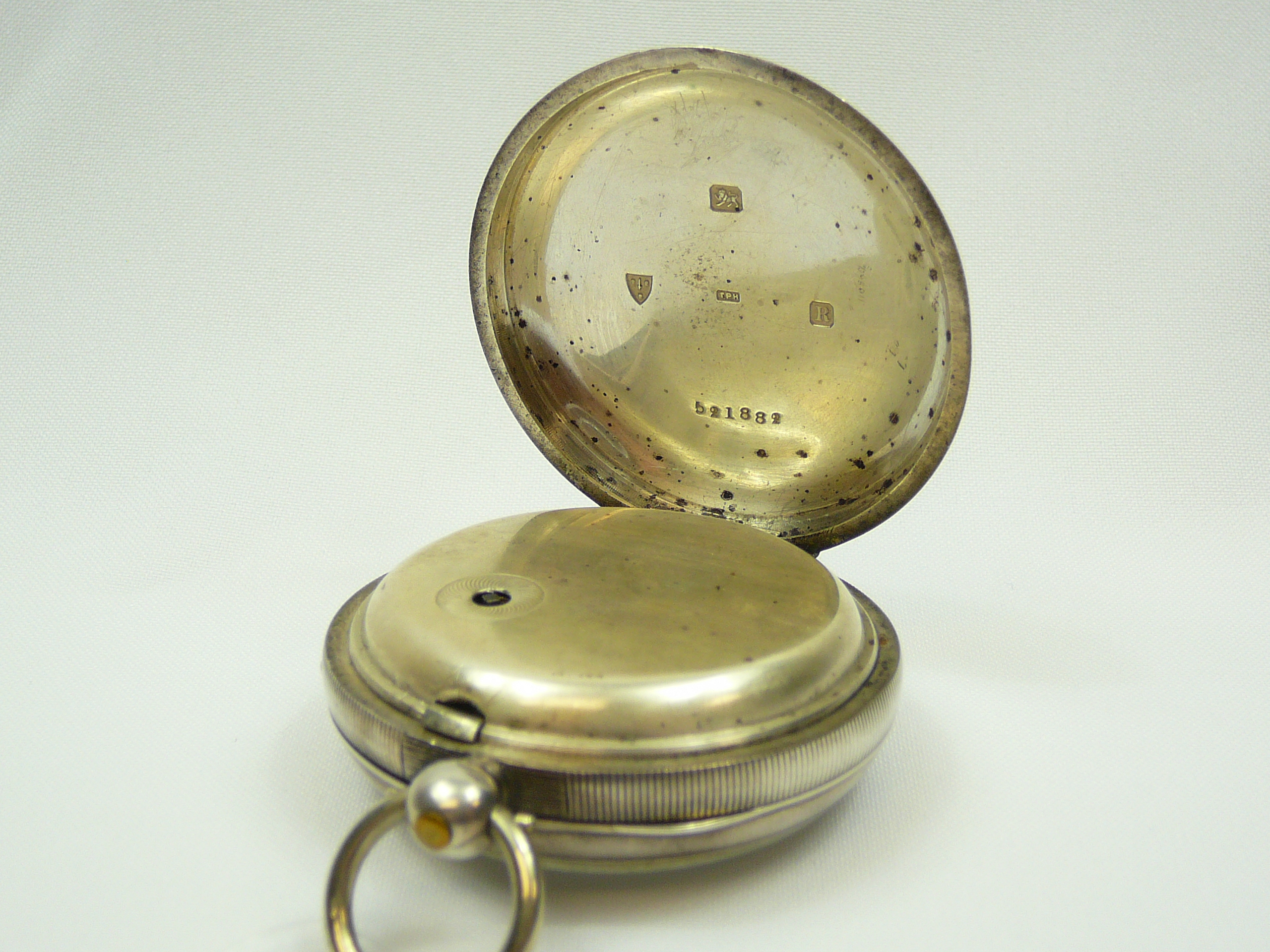 Gents Silver Pocket Watch - Image 2 of 4