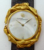 Ladies Carrera Y Carrera Gold Wrist Watch
