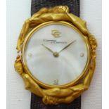 Ladies Carrera Y Carrera Gold Wrist Watch
