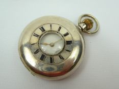Gents Silver Pocket Watch