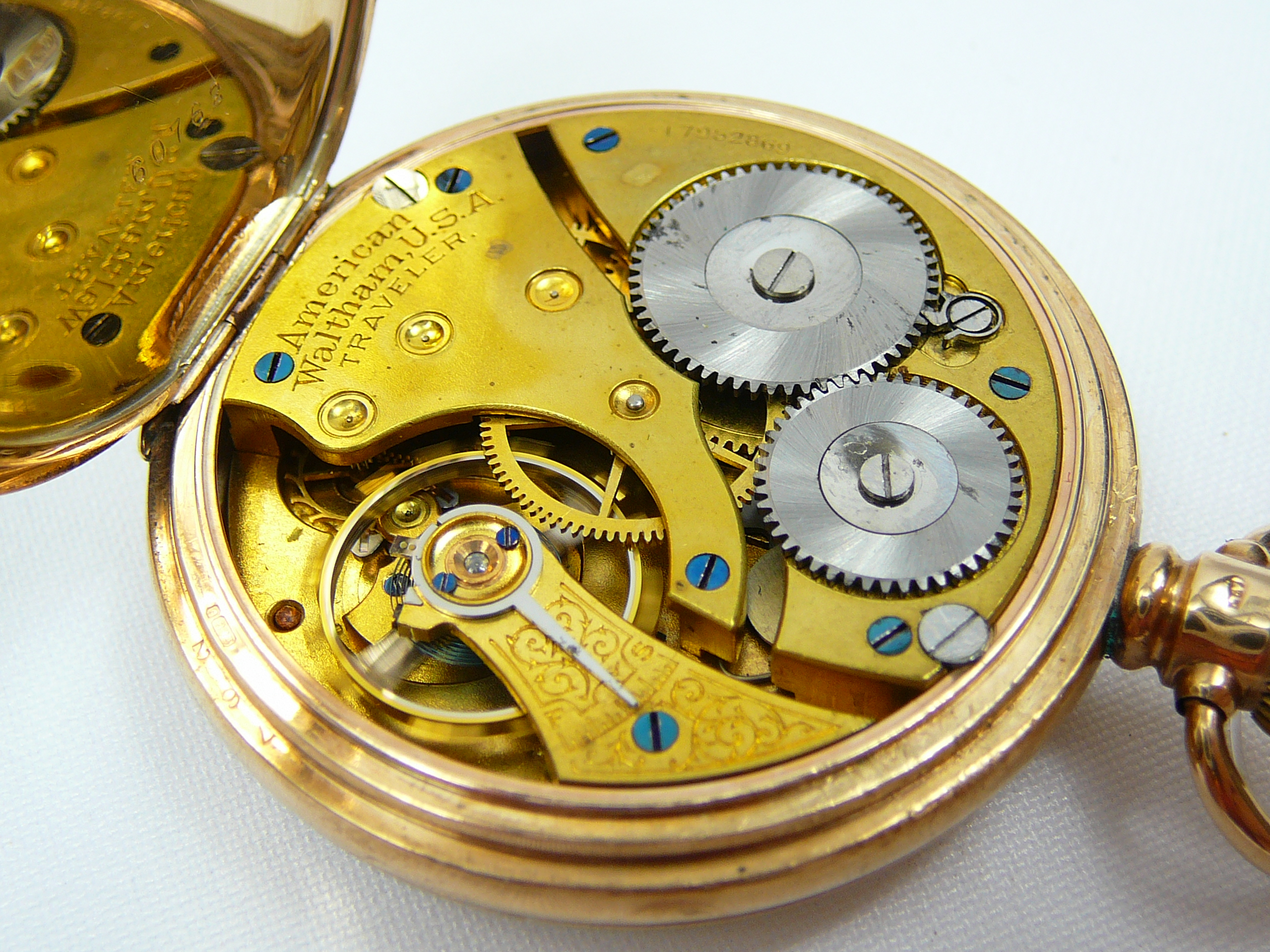 Gents Gold Pocket Watch - Image 4 of 4