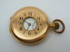 Gents JW Benson Pocket Watch