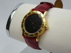 Ladies Bulgari Gold Wrist Watch