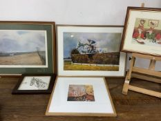 Five country to related prints