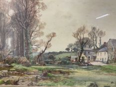 SAMUEL JOHN LAMORNA BIRCH R.A. R.W.S. (1869-1955) Watercolour on paper with traces of pencil.