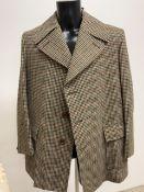 A three quarter length 1960s pure wool coat by Gaurds. M-L.