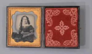 TWO AMBROTYPES AND A DAGUERROTYPE