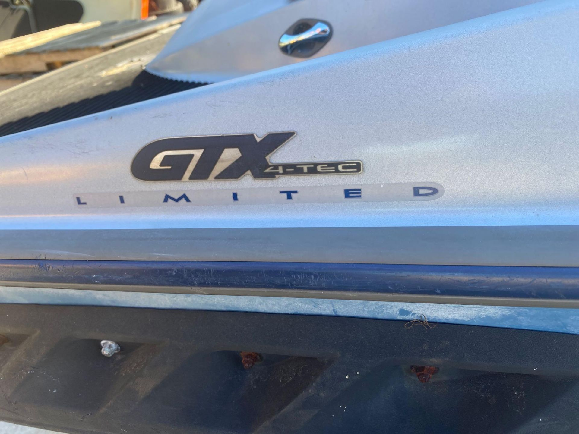 Lot 18B - 2004 SEADOO GTI WAVE RUNNER WITH TRAILER, UPDATED EXHAUST, UPDATED INTAKE MANIFOLD, UPDATED IMPELLER