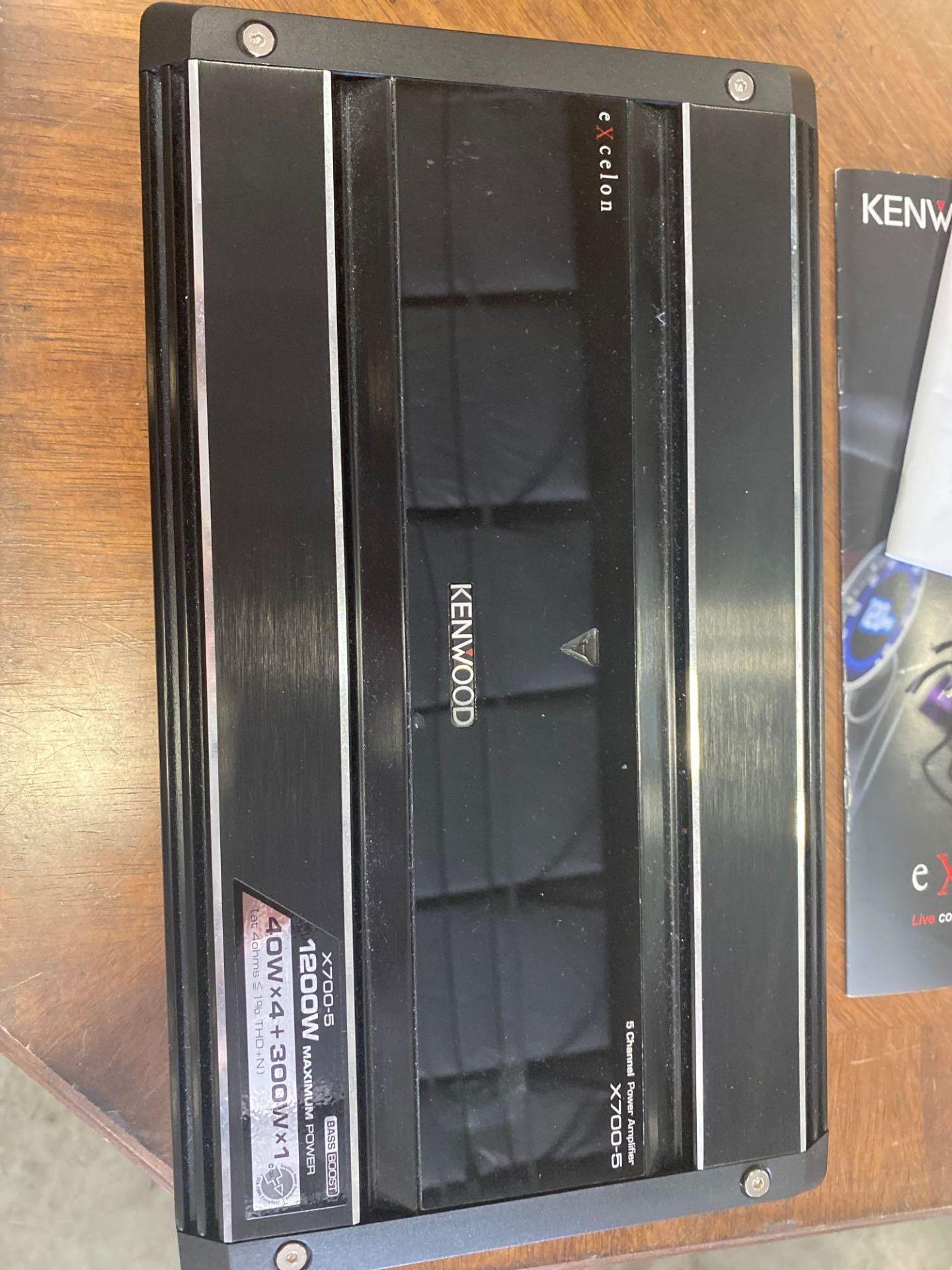 Lot 275 - KENWOOD EXCELON 5 CH AMPLIFIER 50W