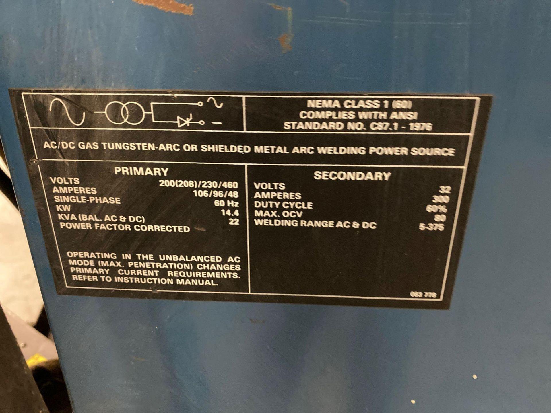 Lot 182 - MILLER SYNCROWAVE 300 WELDER