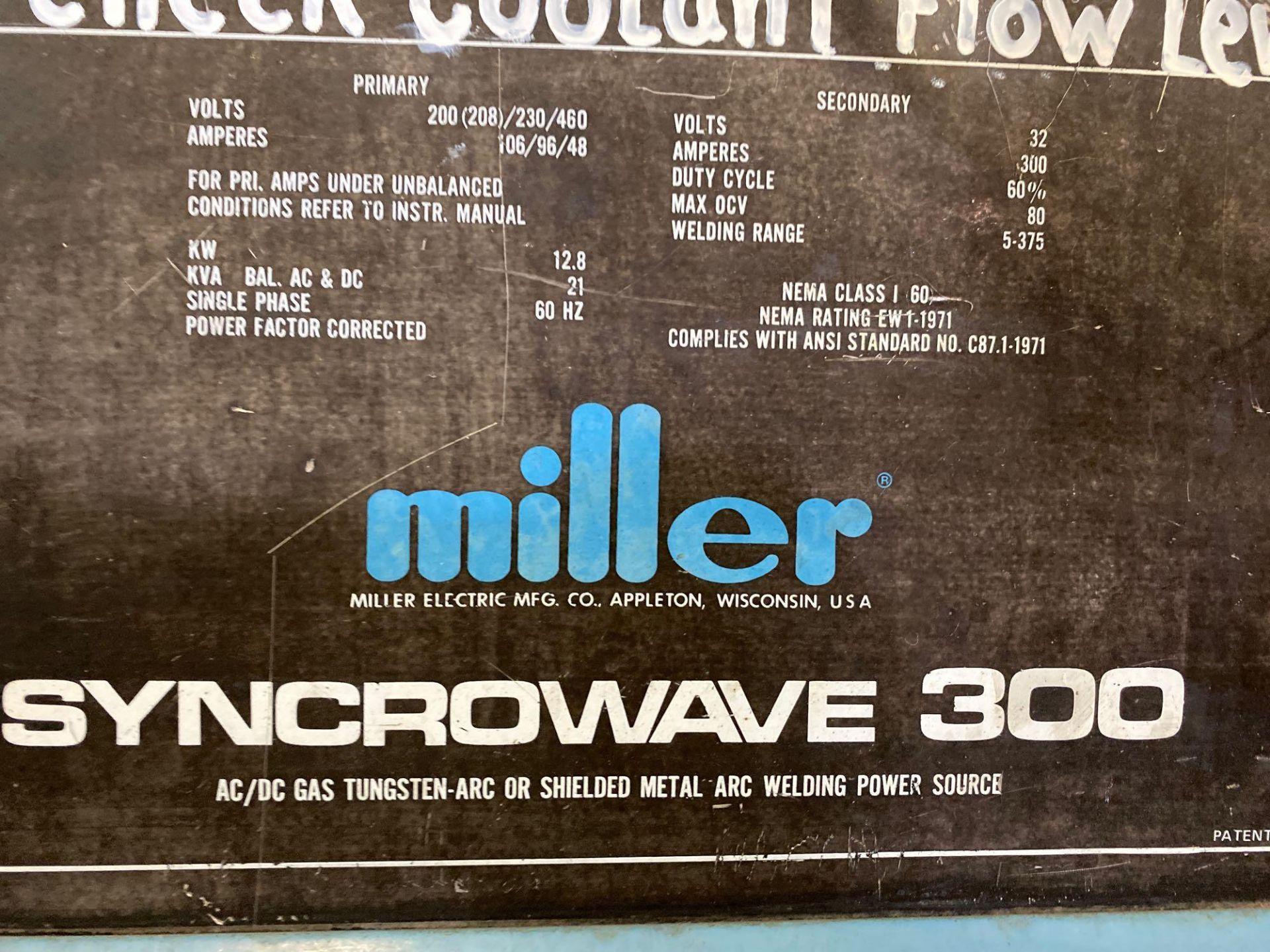 Lot 181 - MILLER STNCROWAVE 300 WELDER