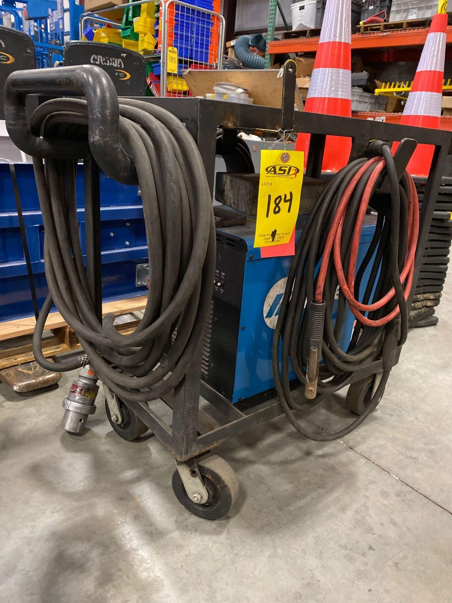 Lot 184 - MILLER XMT 456 WELDER