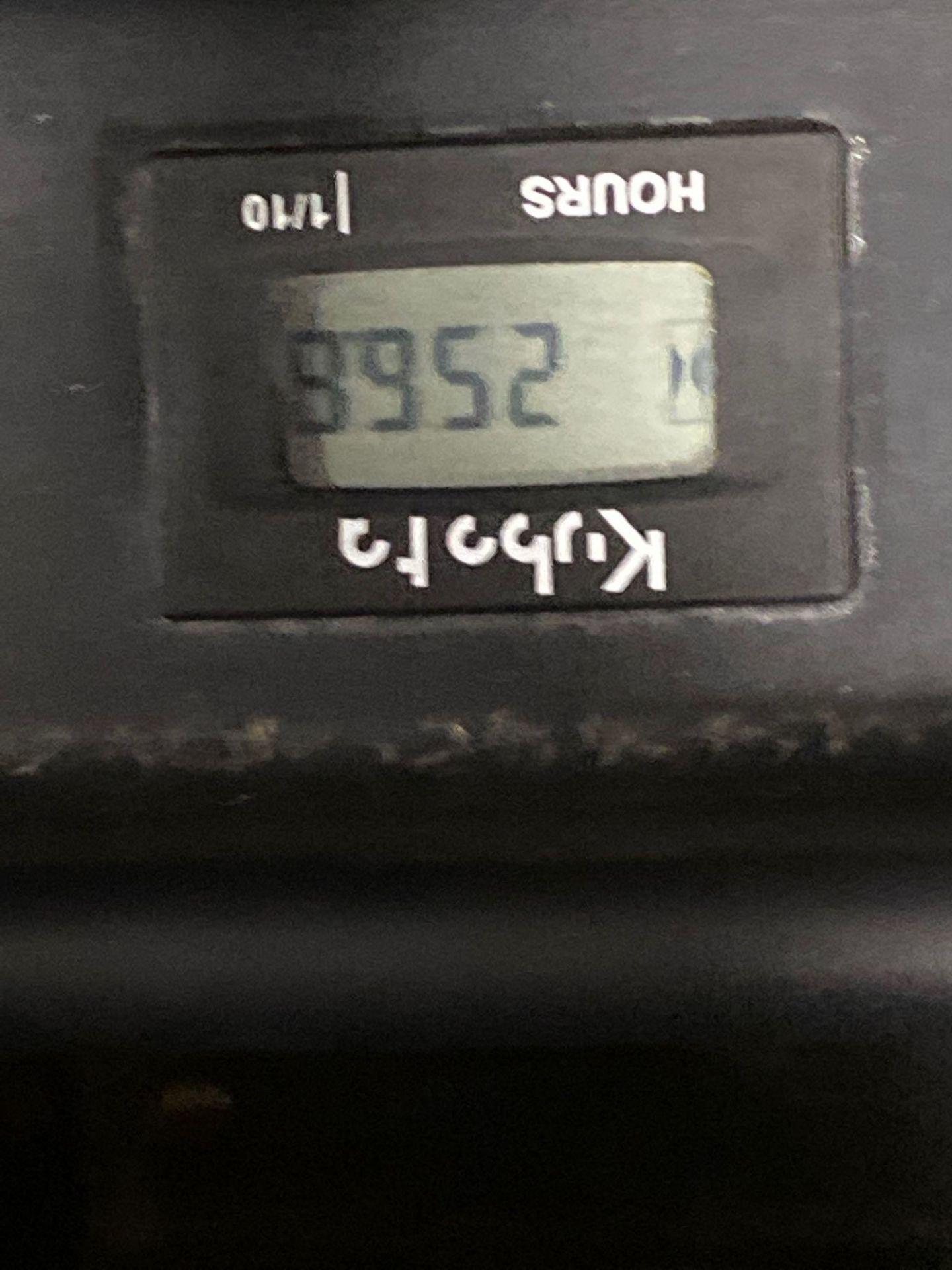 "Lot 34 - KUBOTA ZG123S 48"" RIDE ON MOWER, 256.8 HOURS SHOWING, RUNS AND OPERATES"