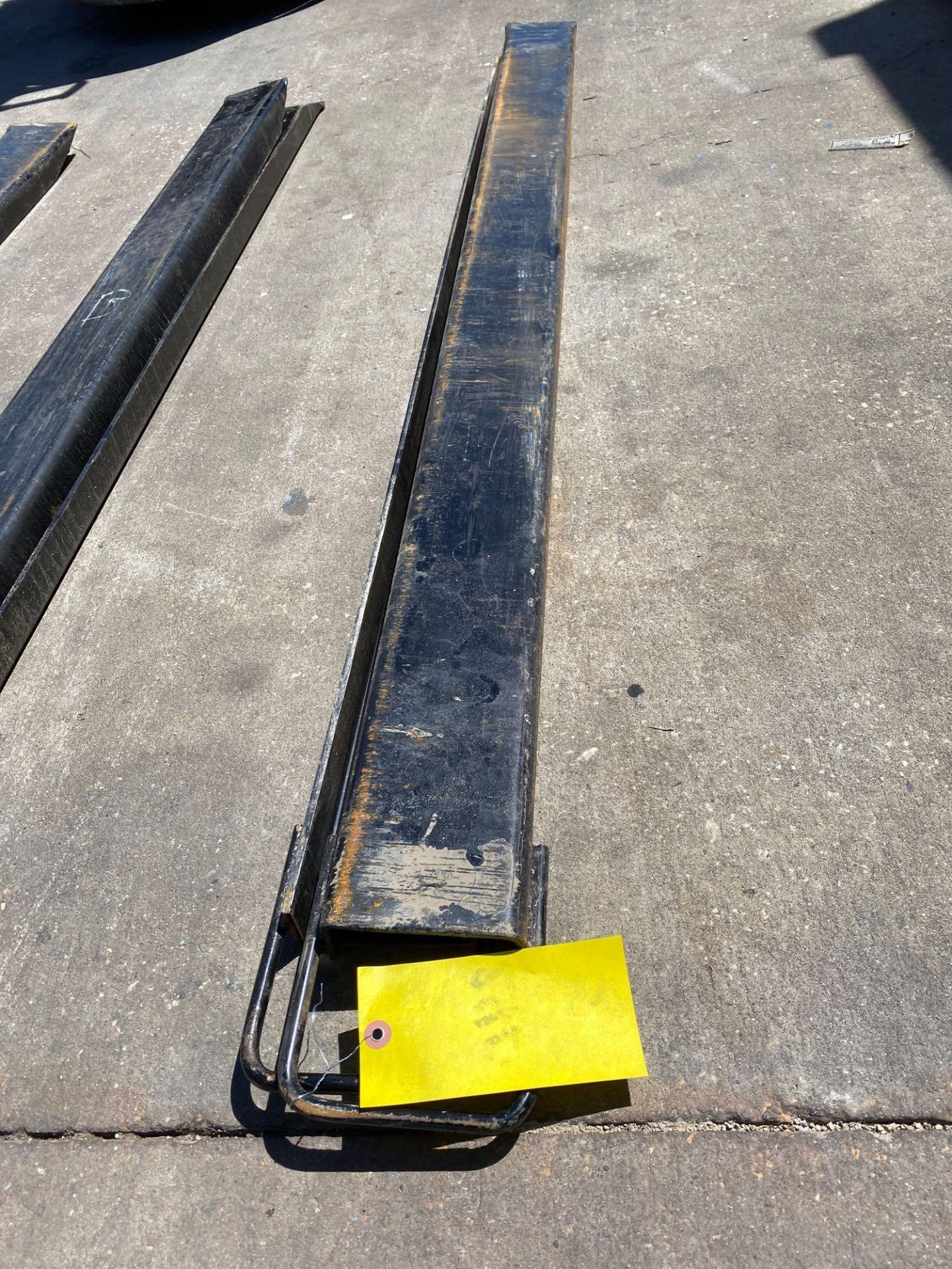 Lot 24D - PAIR OF 6' SLIDE ON FORK EXTENSIONS