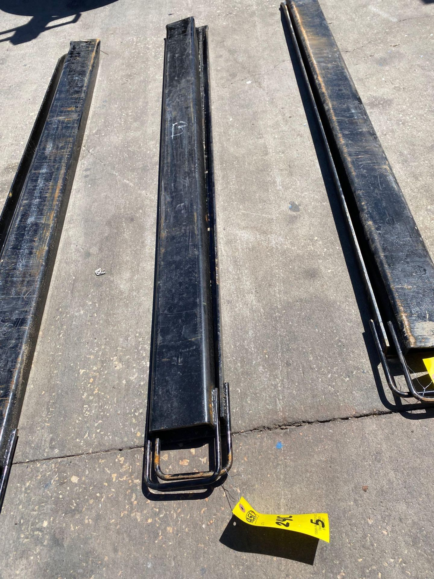Lot 24C - PAIR OF 6' SLIDE ON FORK EXTENSIONS