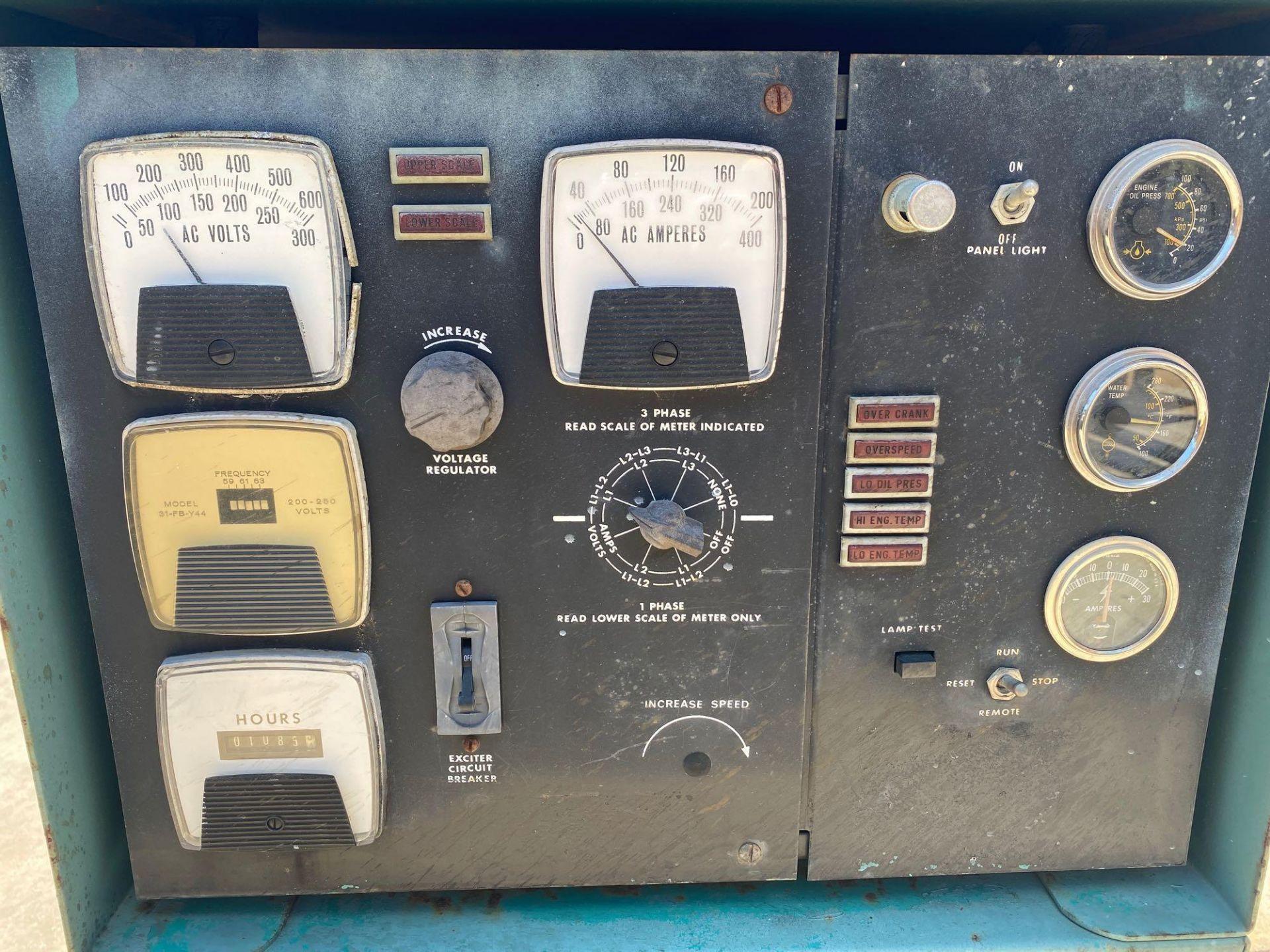 Lot 35B - ONAN 90 DYC GENERATOR, 90 KW, 112KVA, 1085 HOURS SHOWING