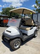 CLUB CAR ELECTRIC GOLF CART, REAR SEATING, RUNS & DRIVES