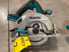 UNUSED RECONDITIONED MAKITA 36V SAW