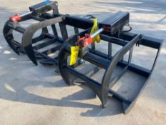 "UNUSED 77"" SKID STEER GRAPPLE"