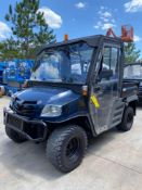 CUSHMAN 1600XD DIESEL UTV, 4x4, ENCLOSED CAB, RUNS AND DRIVES