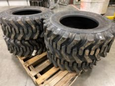 SET OF 4 12-16.5 EQUIPMENT TIRES
