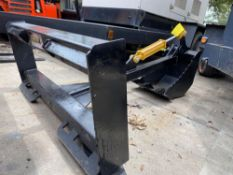 UNUSED UNIVERSAL SKID STEER BACKHOE ATTACHMENT