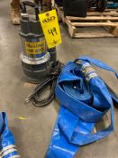 MUSTANG MP 4800 SUBMERSIBLE PUMP WITH HOSE