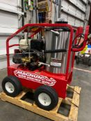 UNUSED 2020 MAGNUM 4000 SERIES HEATED PRESSURE WASHER, ELECTRIC START, GAS POWERED ENGINE, DIESEL PO
