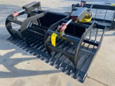 "UNUSED 72"" SKID STEER GRAPPLE"