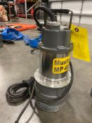 UNUSED MUSTANG MP4800 SUBMERSIBLE PUMP