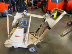 EDCO GROUND CUTTER MODEL DS-18-5?230/1, RUNS AND OPERATES