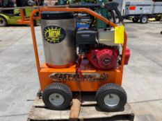 EASY CLEAN GAS POWERED PRESSURE WASHER - MAGNUM 4000 PLUS, HAS GAS LINE LEAK